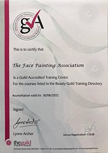 Guild Accreditation Certificate
