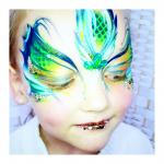Tick Boom Face Painting