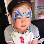 Face painting princess gemsf